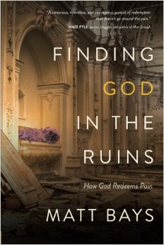 Finding God in the Ruins Cover