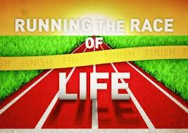 running the race of life